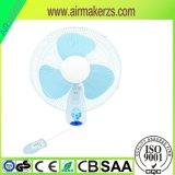 Sicherheit energiesparender Wechselstrom 360 Grad-oszillierender Wand-Ventilator
