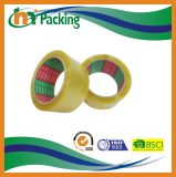 黄色がかったカラーBOPPパッキングテープを使用してカートンのシーリング