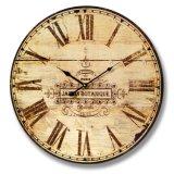 Часы рамки часов стены кварца выдвиженческого домашнего Antique декора деревянные