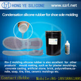 Moule de chaussure faisant à matériaux le caoutchouc de silicone liquide