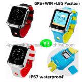 方法2g/GSMは子供Geo塀が付いているスマートなGPSの追跡者の腕時計を防水する