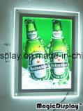 Comitato acrilico del cristallo della parete di Frameless LED