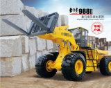 Mgm988II 36 tonnes de granite Gestionnaire de bloc chargeur élévateur à fourche