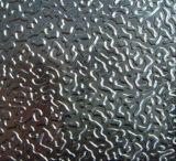 Bobine d'aluminium gravée en relief par stuc enduite par couleur/en aluminium pour la toiture