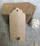 의복 종이 걸림새 꼬리표, 설명서를 인쇄하는 주문을 받아서 만들어진 싼 새로운 디자인 고품질 형식
