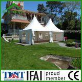 Tente de bâti de mariage de Gazebo de jardin d'usager de 4 x de 4m