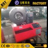 Máquinas de fazer Máquina Automática qualidade Máquina de crimpagem da mangueira de alimentação Finn