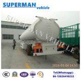 3つの車軸燃料の輸送のトラックのトレーラーの重油のタンカー