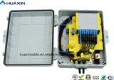 Type inséré par fibre optique cadre du faisceau PC+ABS de FTTH 32 de distribution
