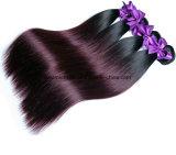 O cabelo reto brasileiro 1b/99j Borgonha livra o transporte
