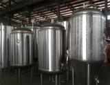 Chaleira de ebulição da cerveja elétrica do aquecimento de vapor do aquecimento de gás do aquecimento opcional