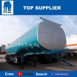 A Titan 45000 litros depósito de combustível com um reboque de eixo 3 do reboque-cisterna de aço inoxidável