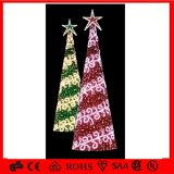 2.5m Hot Sales Assembled Christmas Tree für Shopping Center Garten Decoration