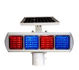 도로 안전 번쩍이는 LED 태양 경고등