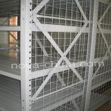 Forte capacidade média com estantes Rack