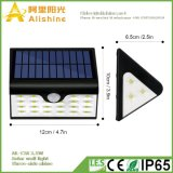 luz solar da parede do diodo emissor de luz 2.5W com controle claro e indução de PIR