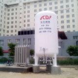 低温液化ガスのアルゴンタンク