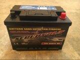 Batterij van de Auto van het Onderhoud 12V72ah van Supervolt DIN72mf de Vrije