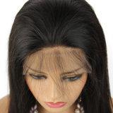 150% плотность прямо кружева передней человеческого волоса парики