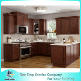 Agitador de espresso sólidos de madeira armário de cozinha de estilo para o Canadá e América Latina Projectos