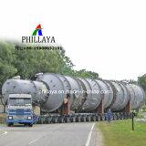Hochleistungs-LKW, der niedrige Ladevorrichtungs-hydraulischen modularen Schlussteil anschließt