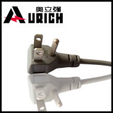 8. Штепсельная вилка американского стандарта комплекта шнура 110V NEMA 5-15p силового кабеля мыжская