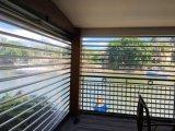 Il policarbonato trasparente domestico residenziale rotola in su il portello dell'otturatore