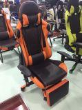 賭博の椅子を競争させる商業人間工学的の革によってパッドを入れられる旋回装置のオフィス