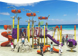 Kaiqi Kind-im Freien Plastikspielplatz-Lieblingsgerät mit multi Aktivitäten
