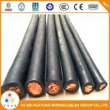 Cobre con aislamiento de goma Super Flexible Cable de soldadura de 50mm2 de 70mm2