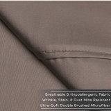 1800 colecção Prestige roupa de microfibra Bedsheet escovado