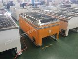 중국 제조 냉장고 상단 유리제 편평한 섬 냉장고 전시 진열장