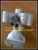 Clip d'acciaio della sella della grata