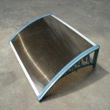 De Afbaardende Luifel van het Polycarbonaat van PC voor het Afbaarden van de Voor/Achterdeur