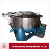 Secador centrífugo industrial com tambor e tampa de aço inoxidável