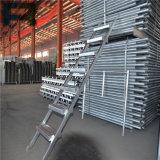 Escala galvanizada del andamio de la pieza del andamio de la construcción