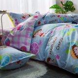 高品質は贅沢な印刷の現代羽毛布団カバーをカスタム設計する