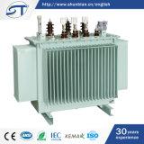 11kv a 415V transformador imergido petróleo da distribuição de potência de 3 fases
