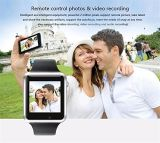 A1 Bluetooth Smart посмотреть с помощью SIM-телефонный вызов, Anti-Lost, отслеживание активности, трекер сна, Selfie 6 для iPhone 6S Plus Samsung S6 ПРИМЕЧАНИЕ 5 HTC LG