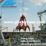 Pilha Grab Clean acima de Grab para Bridge Construction Excavator Grab