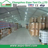 Industrial provisoire Storage Tent avec Steel Sheet Wall