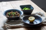 8' Salat-Filterglocke-Suppe-Platten-Stein-Ware-neuester Entwurf