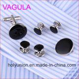 Новый серебристый Gemelos VAGULA качества запонки втулку шпильки в 6ПК (295)
