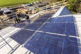 격자 변환장치와 건전지에서 건설되는 태양 가정 에너지 저장 시스템 떨어져 3kw/5kw