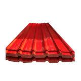 PPGI chaud laminé à froid Feux de tôle de toit ondulé du matériau de couverture