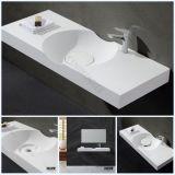 Countertop van de Oppervlakte van Italië het Moderne Stevige Bassin van de Kunst van de Hand van de Was