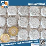 2018 Promoción! Comercio al por mayor de bolsillo Mini colchón muelle interior, Unidad de bolsillo Cojín de sofá de la primavera