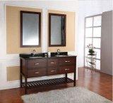 Klassische Hotel-Badezimmer-Eitelkeits-amerikanischer hölzerner Badezimmer-Schrank
