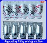 De Farmaceutische Zetpil die van de hoge snelheid het Vullen vormen en de Lijn van de Machine van de Productie (gzs-9A) verzegelen