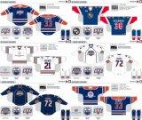 Customized Homens Mulheres Crianças Liga de Hóquei Americana Oklahoma City Barons 2010-2015 Hóquei no Gelo Jersey